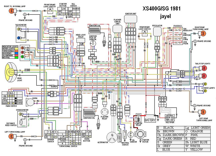 yamaha xs400 wiring diagrams | page 2 | yamaha xs400 forum  yamaha xs400 forum