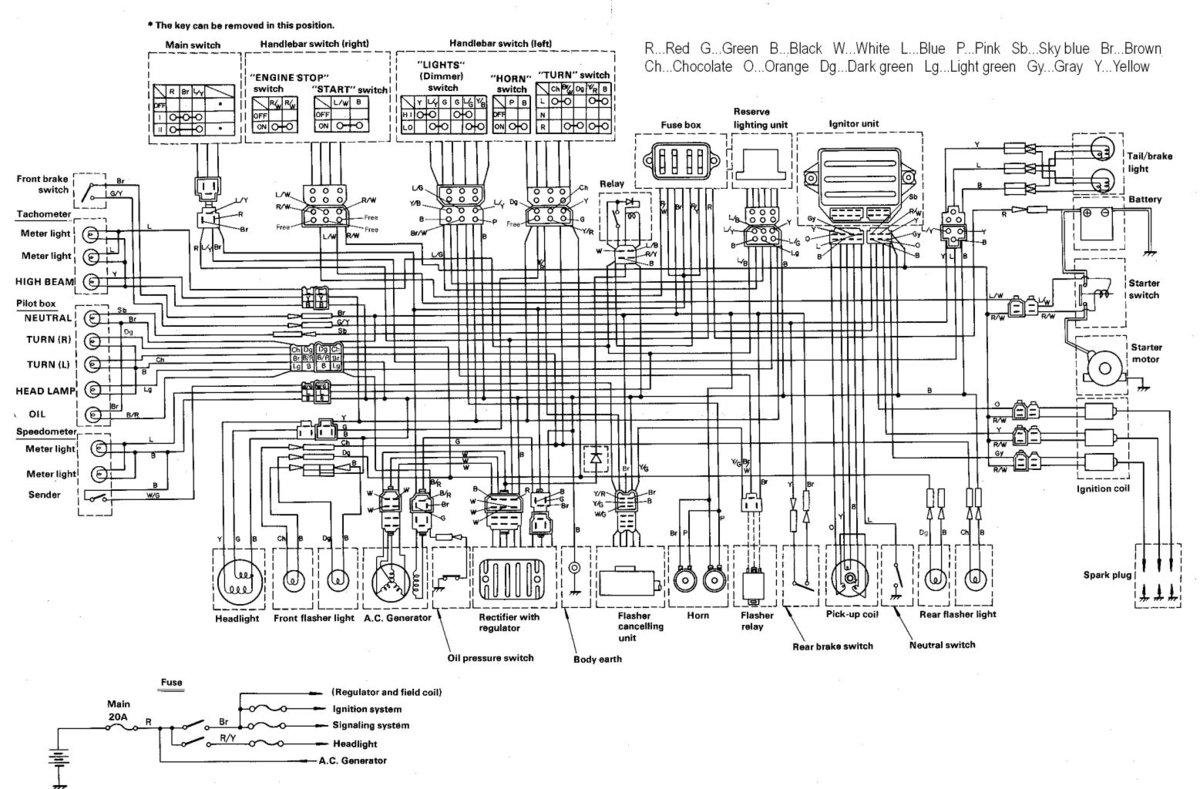 Xs Yamaha Wiring Diagrams Instructions 1981 Sr250 Diagram 81 Xs400 Smart Xs850 Explained Rh Sbsun