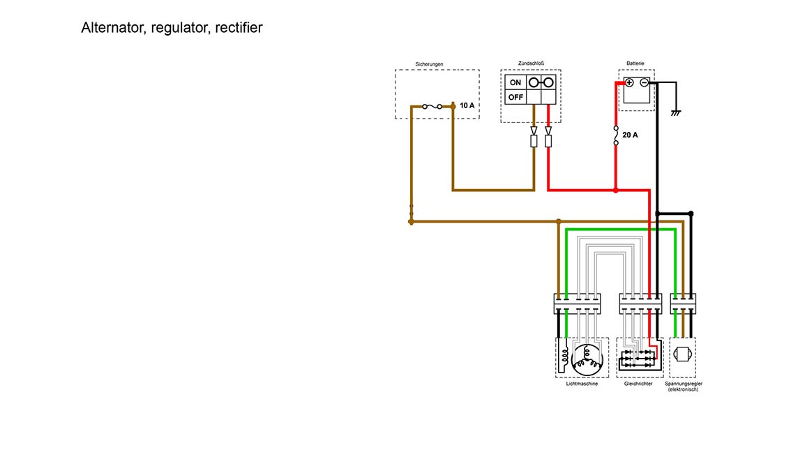 simplified wiring harness question about regulator yamaha xs400 yamaha xs 400 wiring diagram at n-0.co