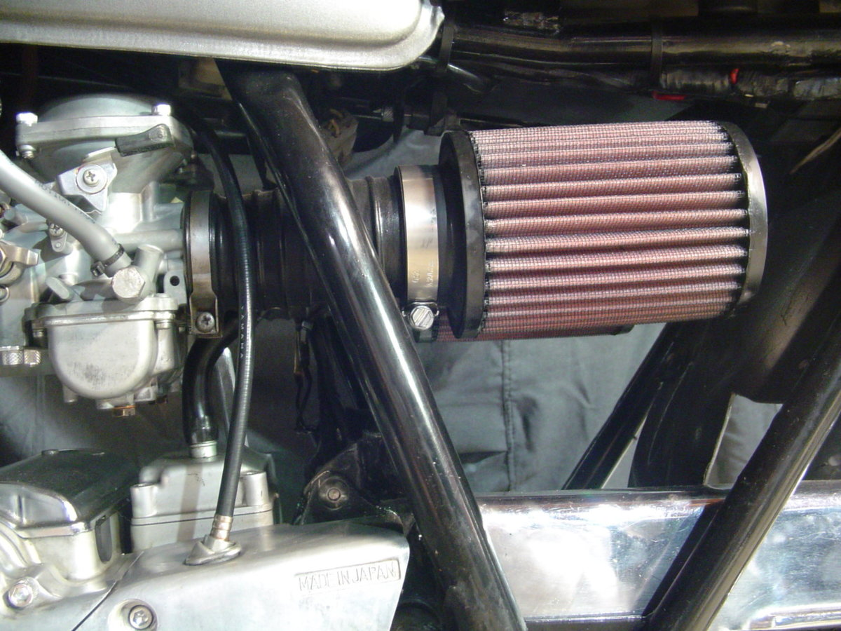 4G5 Air Filter Power for 1981 Yamaha XS 400 SH Special SOHC