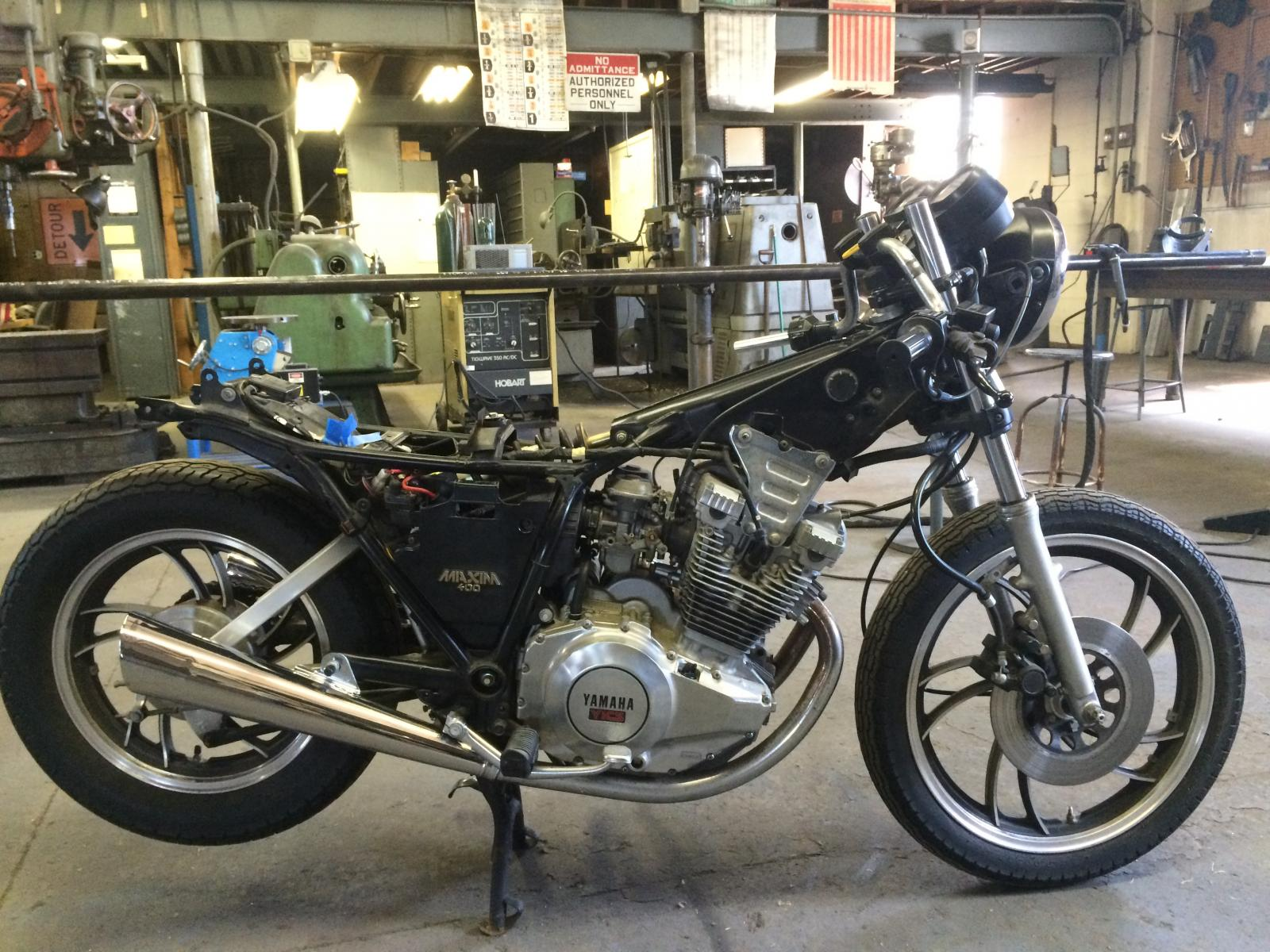 Yamaha xs400 cafe racer for Blue creek motors lewellen nebraska