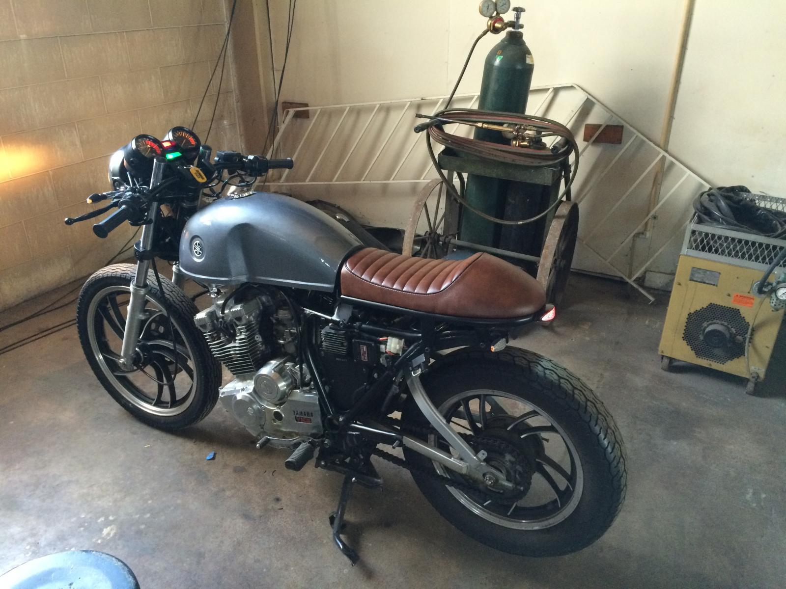 Cafe Racer Build Yamaha Xs400 Forum