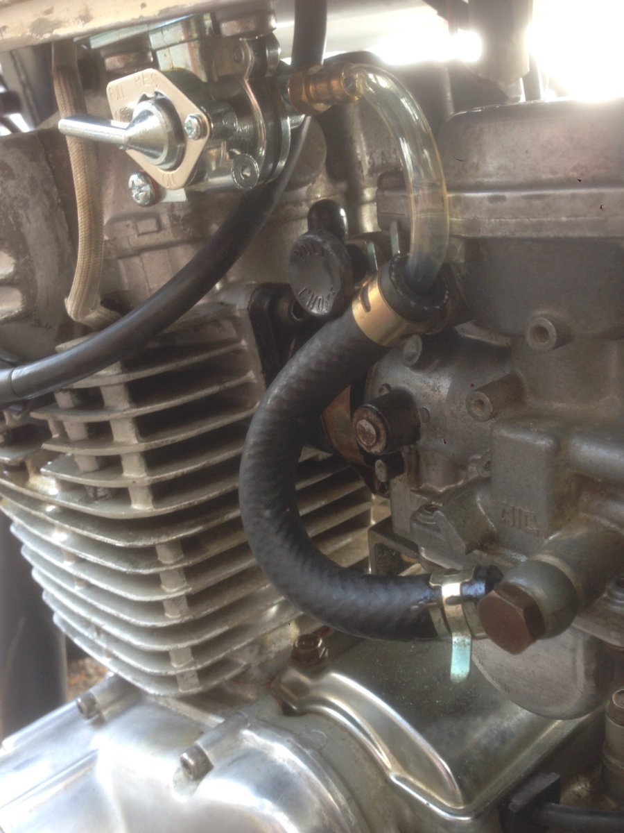 Replacement petcock does not have valve | Yamaha XS400 Forum