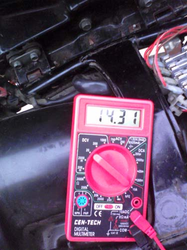 Charging Issues SOLVED! Fixing a dead voltage regulator, or ... on