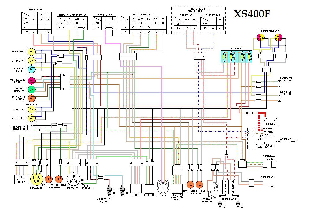 yamaha xs400 wiring diagrams yamaha xs400 forum XS400 Forum at virtualis.co