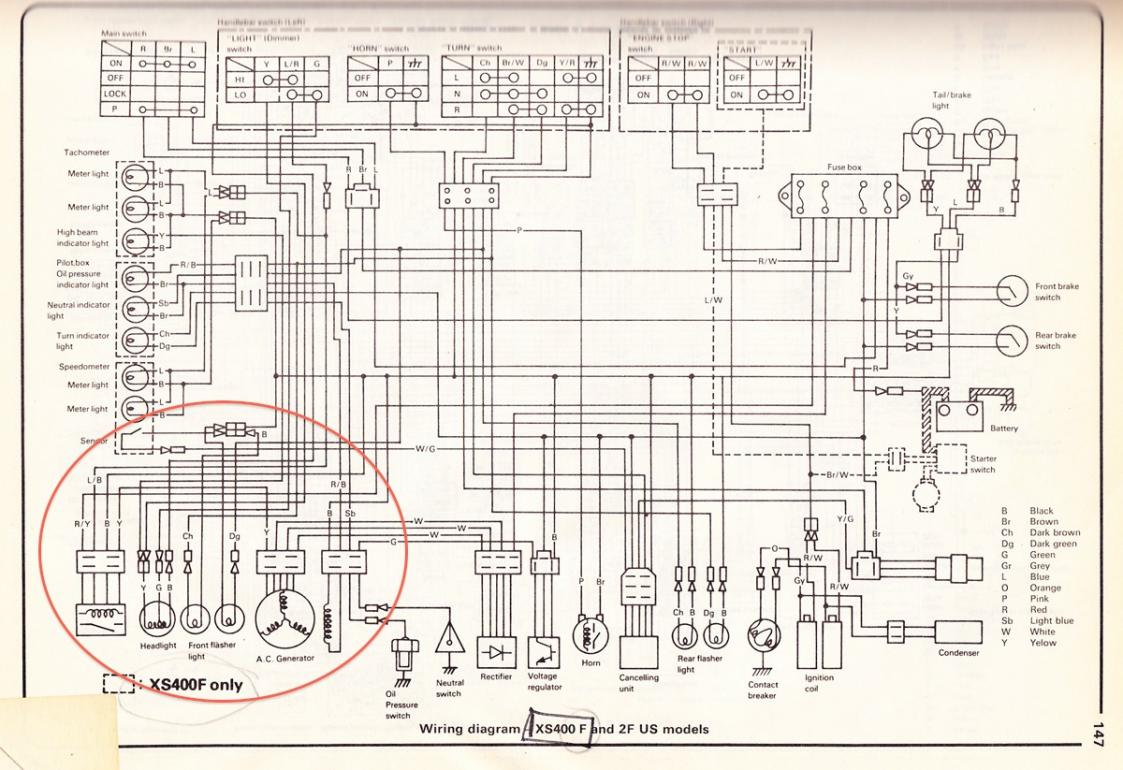 yamaha xs400 wiring diagrams yamaha xs400 forum 1981 xs400 wiring diagram at gsmportal.co