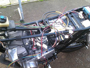 XS400 rewire how to